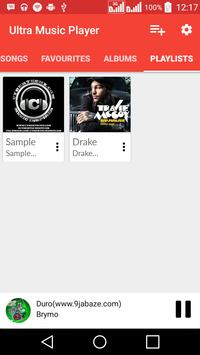 Ultra Music Player apk screenshot