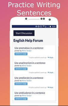 English Discussions screenshot 1