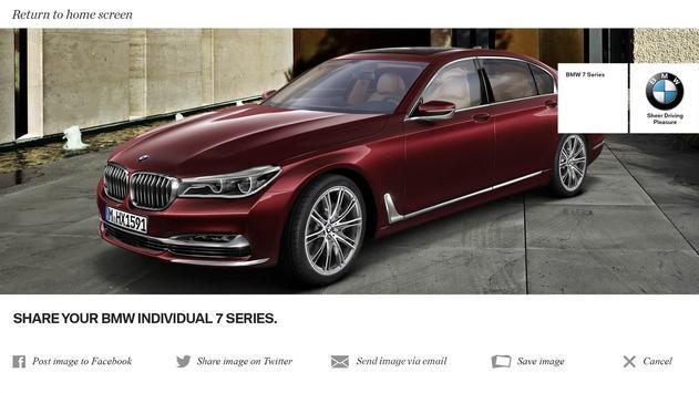 BMW Individual 7 Series AR screenshot 14