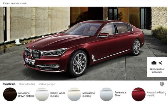 BMW Individual 7 Series AR screenshot 3