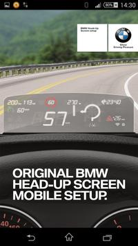 Head-Up Screen poster