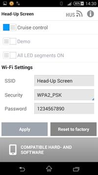 Head-Up Screen apk screenshot