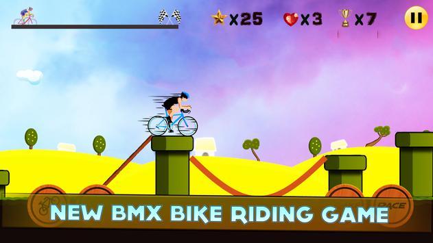 BMX Bike Rider poster