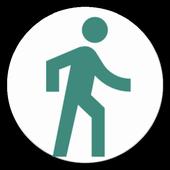 Smart & Free Pedometer, WalKing icon