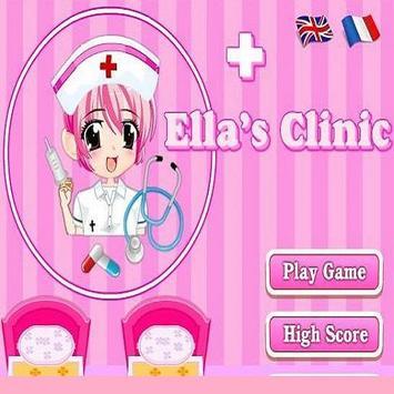 لعبة طبيب الاطفال المرضى poster