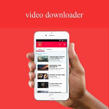 download video all downloader poster