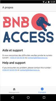 BNB ACCESS poster
