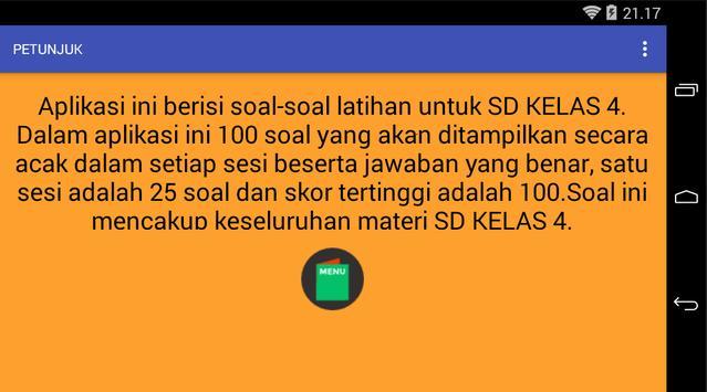 SOAL SD KELAS 4 screenshot 2