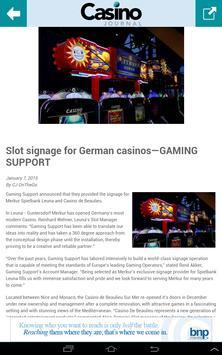 Casino Journal apk screenshot