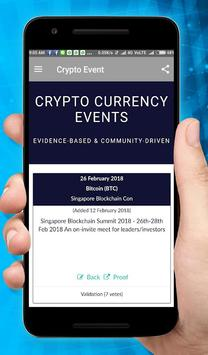 Crypto Event poster