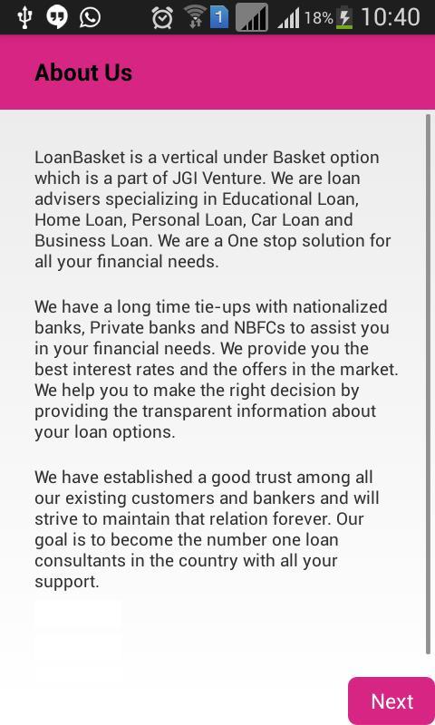 Loan Basket poster