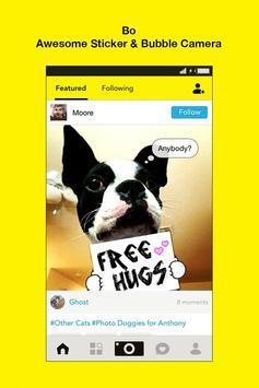 Bo -Sticker Cam for Pet Lovers poster
