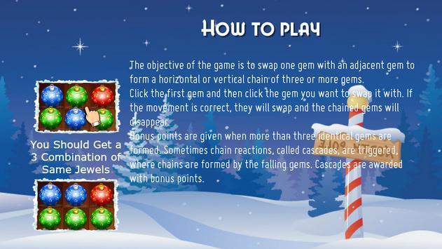 Christmas Match 3 screenshot 1