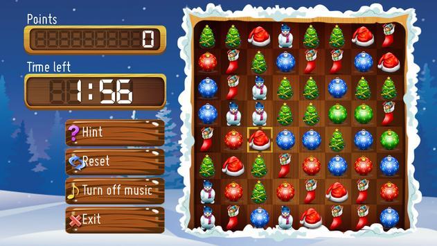Christmas Match 3 screenshot 2