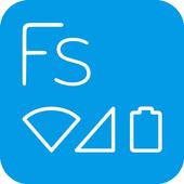 Flat Style Bar Indicators icon