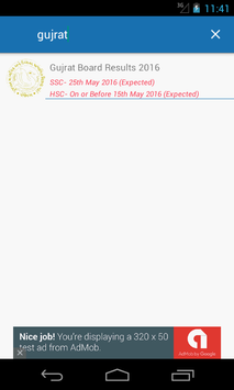 Board Exam Result 2016 for Android - APK Download