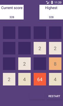 2048 Board Swipe screenshot 2