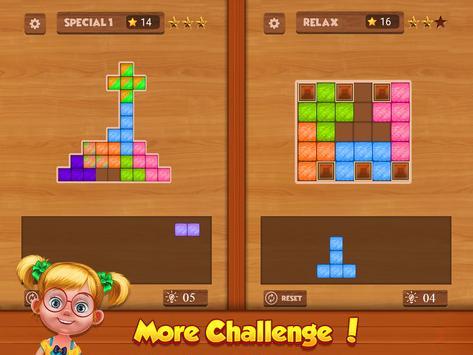 Wood Block Puzzle screenshot 14