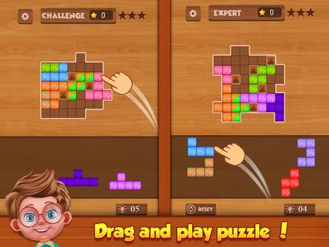 Wood Block Puzzle screenshot 16