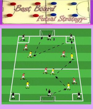 Board Futsal Strategy poster