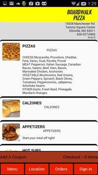 Boardwalk Pizza poster