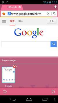 Pink Bird Boat Browser Theme apk screenshot