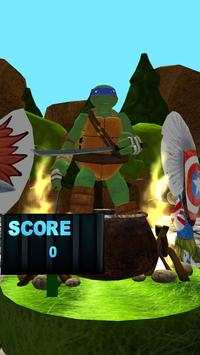 The Surfer Ninja Subway Turtles screenshot 2