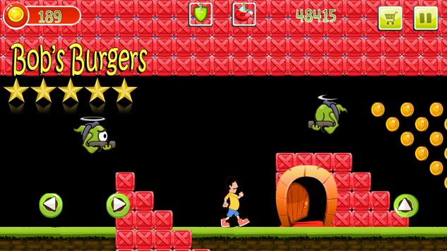 Bobe burger Adventure Game apk screenshot