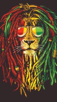 Rasta Weed Wallpapers Poster