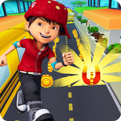 BoBoiBoy Subway Surfer: Run & Dash 3D Subway Game icon