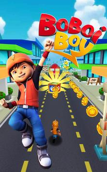 BoBoiBoy Subway Surfer: Run & Dash 3D Subway Game poster