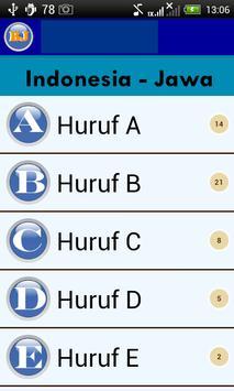 Belajar Bahasa Jawa screenshot 2