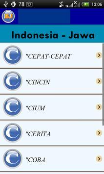 Belajar Bahasa Jawa screenshot 3