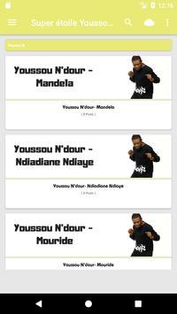 Super étoile Youssou N'dour poster