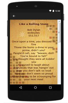 Bob Dylan Lyrics screenshot 2