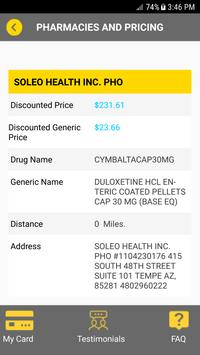 Stanley Drug Card screenshot 4