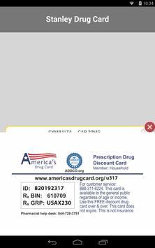 Stanley Drug Card screenshot 10