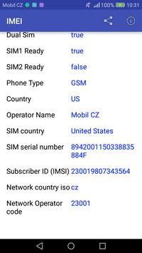 IMEI screenshot 1