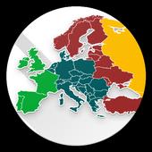 Europe Map Quiz icon