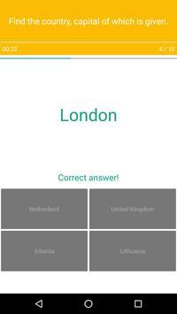 Europe Map Quiz screenshot 5