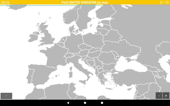 Europe Map Quiz screenshot 6