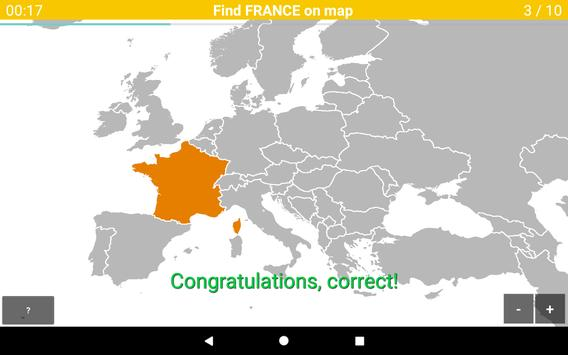 Europe Map Quiz screenshot 13