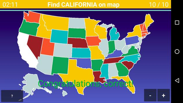 US Map Quiz for Android - APK Download