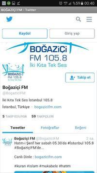 Boğaziçi FM screenshot 2