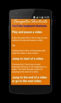 Computer Shortcut Keys apk screenshot