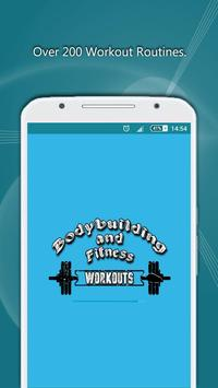 BodyBuilding & Fitness Workout poster