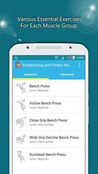 BodyBuilding & Fitness Workout screenshot 2