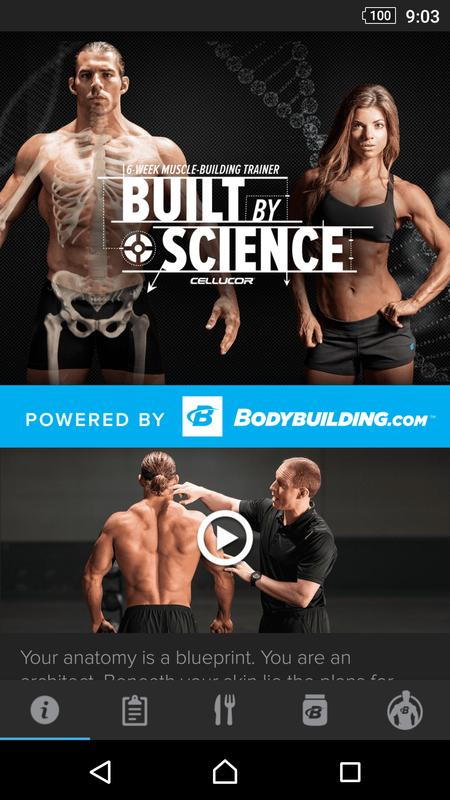 Built by science by cellucor descarga apk gratis salud y bienestar built by science by cellucor poster malvernweather Gallery