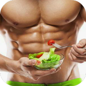 Bodybuilding Diet Workout Plan icon