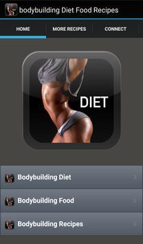 Bodybuilding Diet Food Recipes poster